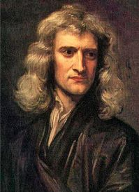 Sir Isaac Newton Credit: Wikipedia