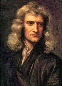 Sir Isaac Newton Credit: Wikipedia