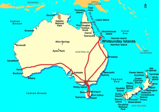 Australian 1974 journeys
