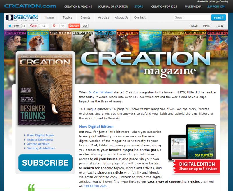 Creation mag