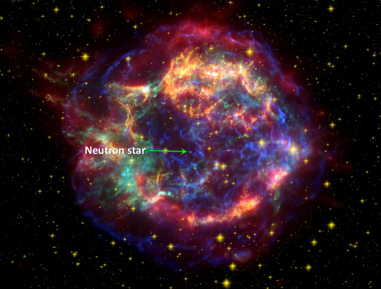 Figure 1: Supernova Remnant in Cassiopeia-A Credit: NASA Chandra X-Ray Observatory