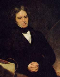 Michael Faraday  Credit: Wikipedia
