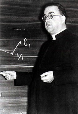 Georges Lemaitre Credit: Wikipedia