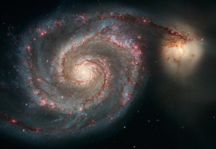 Whirlpool galaxy M51 Credit: Hubblesite.org pr2005012a