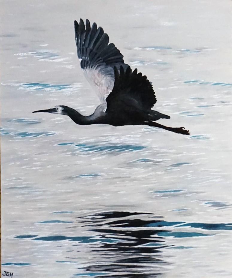 Crane away