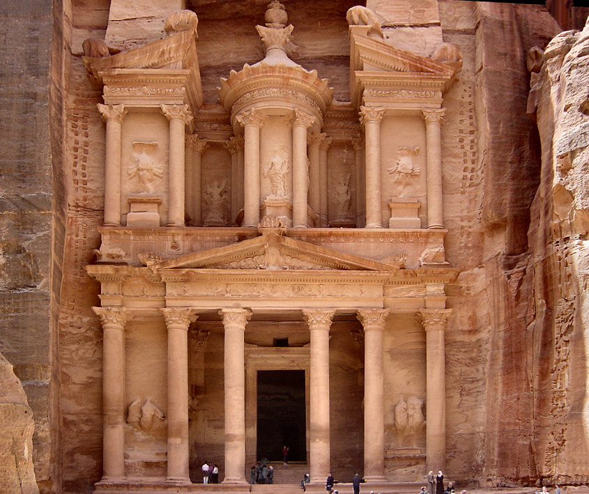 Ancient city of Petra in Jordan. Credit: Wikipedia