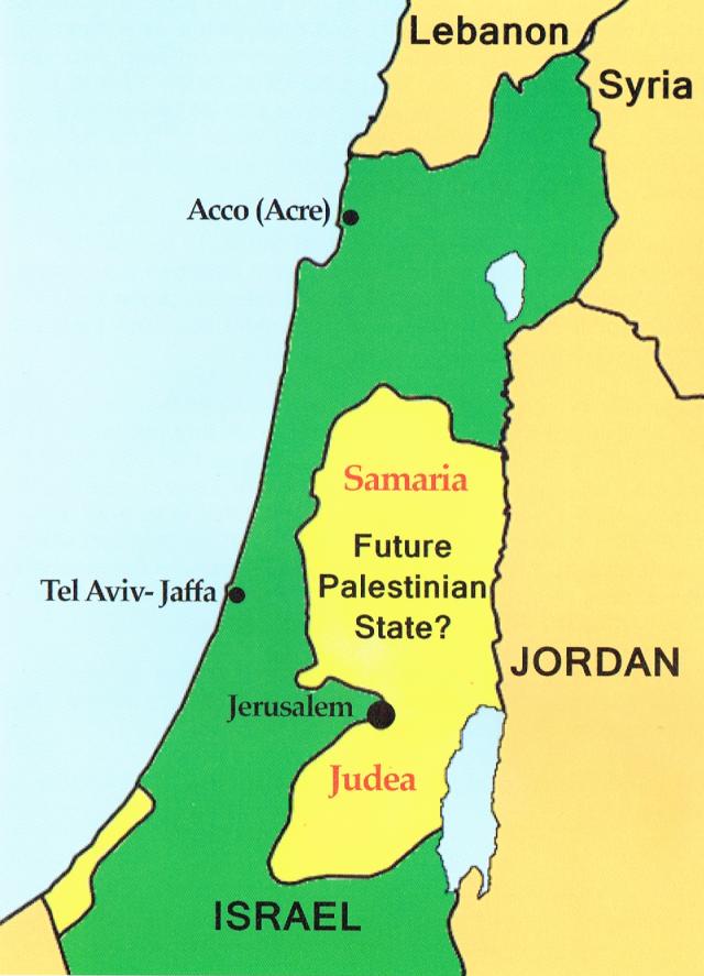 Map Israel 2