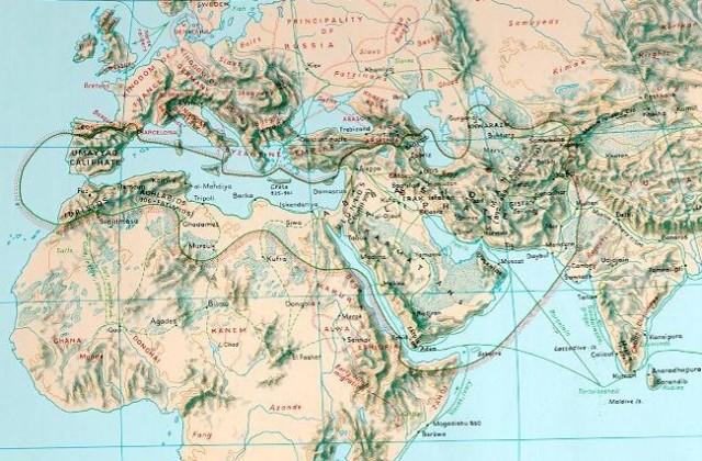 Map 900AD 2