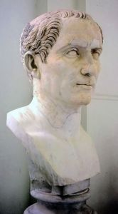 Bust of Gaius Julius Caesar in Naples, from wikipedia