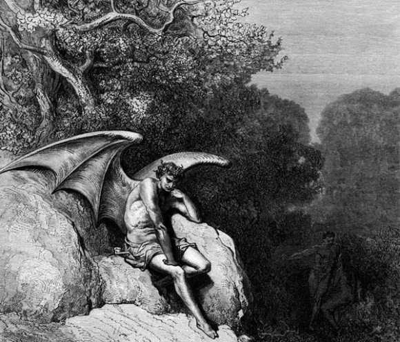 Gustave Dore. Lucifer