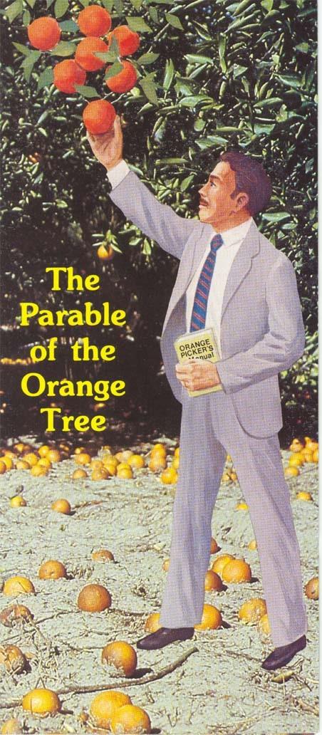 Orange tree parable
