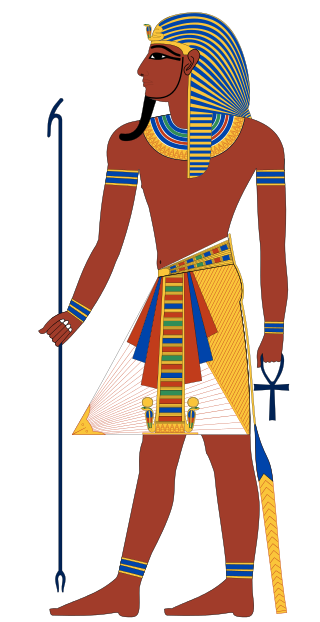Pharaoh of Egypt Credit: Wikipedia